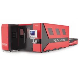 CNC LASER Fiber Novacut Laser F3015-HDE para cortes de Metais - 1.000w - Mesa Dupla auto - Carenagem Fechada