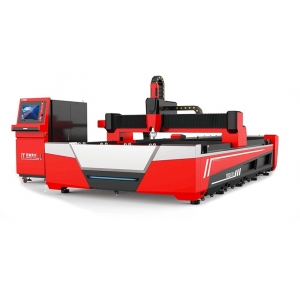 CNC LASER Fiber Novacut Laser F3015-HE para cortes de Metais - 1.000w - Mesa Dupla auto